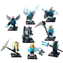 8pcs/lot CHIMAed CHIMN Kid Baby Toy Mini Figure Building Blocks Sets Model Toys Minifigures Brick(China (Mainland))