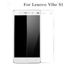 Buy Lenovo Vibe S1 Tempered Glass Original 2.5D 9H Protective Film Explosion-proof Screen Protector S 1 S1a40 S1c50 Dual Sim for $1.09 in AliExpress store