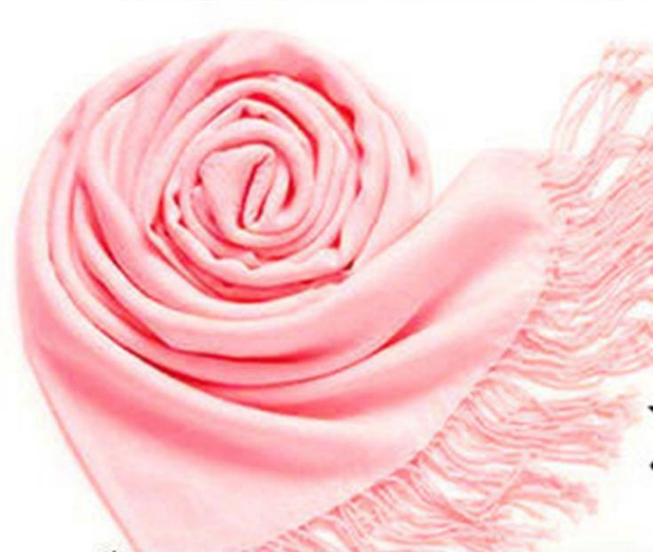 novel designs Hot Pashmina Cashmere Silk Solid Shawl Wrap Women's Scarf Shawl Girls Ladies Scarf Accessories(China (Mainland))