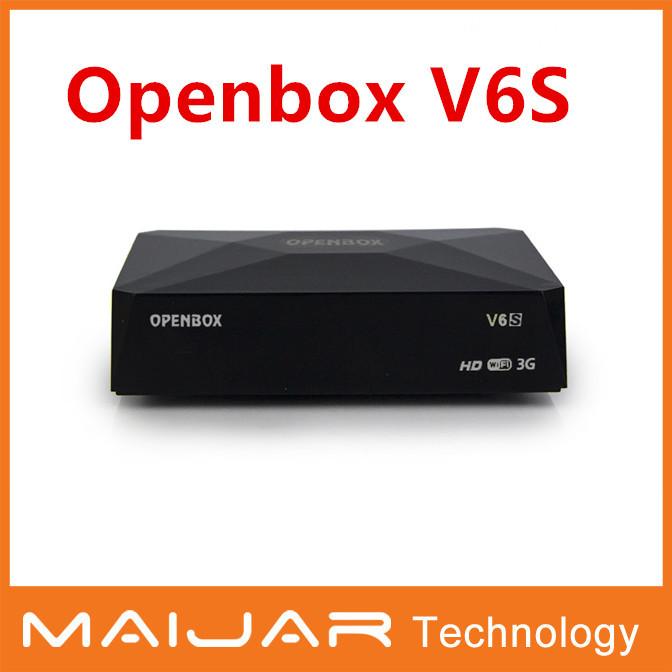 1pcs free shipping Openbox V6S Mini Satellite Receiver same S-V6 output 2xUSB WEB TV USB Wifi 3G Biss Key CCCAMD NEWCAMD MGCAMD(China (Mainland))