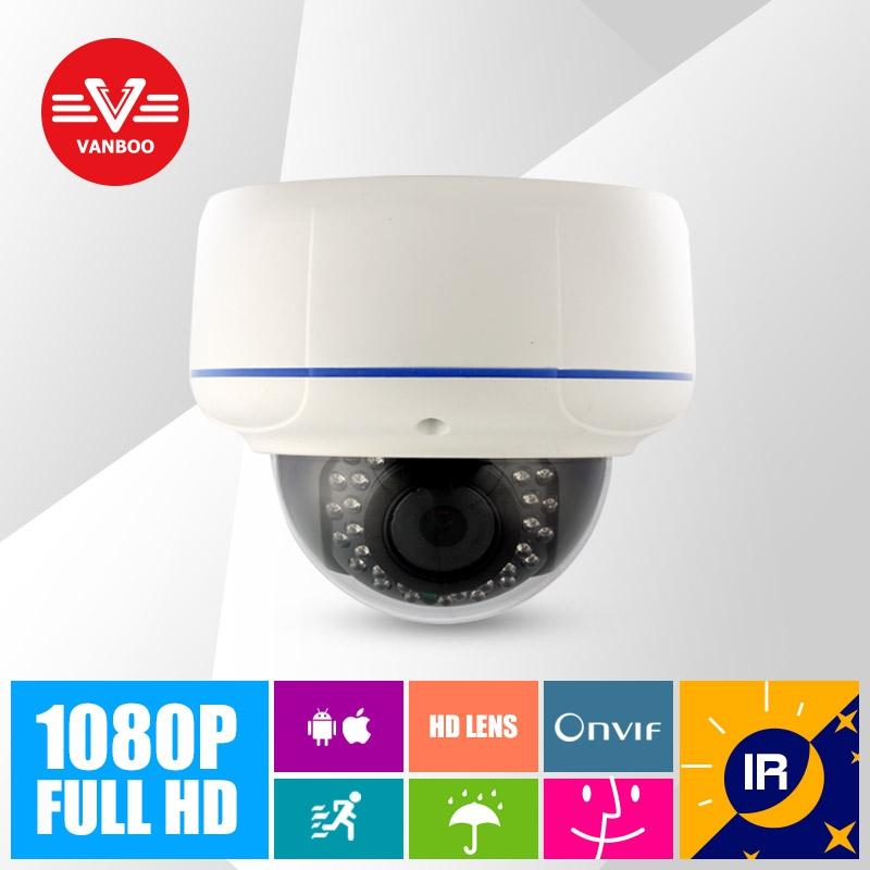 2MP HD IP Dome Camera 1080P Network onvif P2P Infrared Night vision cctv Security Camera defense fix-focal Night Vision(China (Mainland))