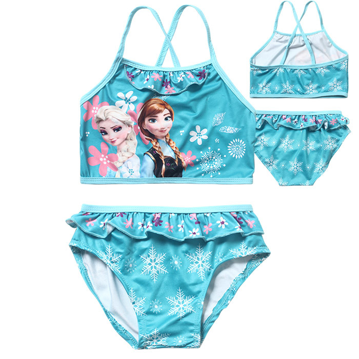 AliExpress.com Product - Elsa Bathing suit girl baby swimwear Girl Baby swimming suit kids swimsuit child Anna kids bikini girl swimsuit for children