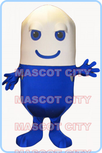 mascot pill mascot costume medicine adult size cartoon pill capsula theme anime cosplay costumes advertising 2816(China (Mainland))