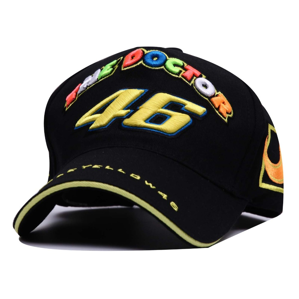 F1 Car Motocycle Racing Moto Gp Rossi Vr 46 The Doctor Embroidery Anapback Baseball Cap free Leisure Baseball Caps Baseball Caps(China (Mainland))