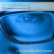 Buy 1.56 Single Vision Aspheric Clear Prescription Lenses Anti-Blue Ray Optical Lens Eyes Myopia Computer Glasses for $11.97 in AliExpress store