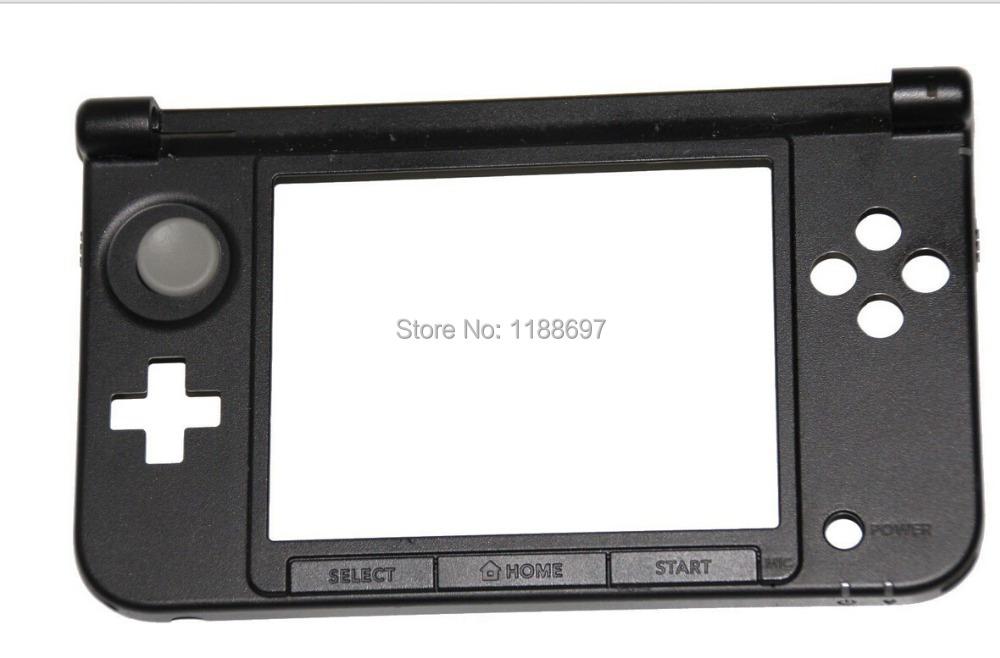 50 pcs OEM original for Nintendo 3DS XL OEM Genuine Button Lower Screen Face Hinge Plate Part black color(China (Mainland))