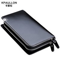 2014 New Style Genuine Leather Men Hand Bag Wallet Purse Handbags day clutches wallet men clutches Free shipping