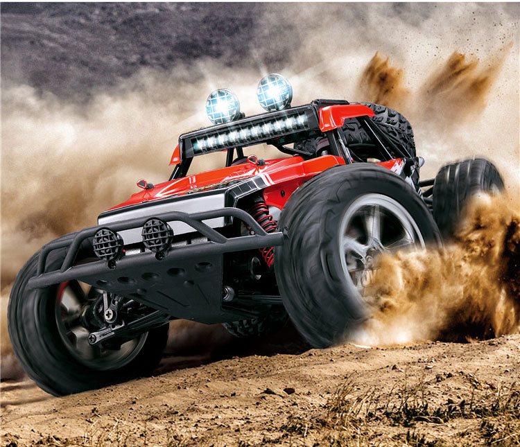 New Eagle 1/12 Scale 4WD Brushed Rc Car Electric Rock Racer Desert Off-Road Truck baja with 2.4GHz Radio System RTR(China (Mainland))
