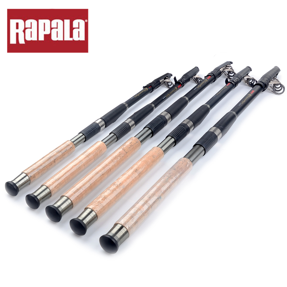 Buy rapala brand thunder stick carbon for Carbon fiber fishing rod