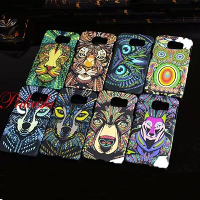Fashion Glow dark Luminous king forest lion wolf hard cases case shell back cover Samsung galaxy s6 - An Art Gallery store