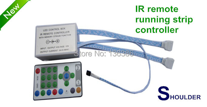 Free Shipping 25key IR Remote For Dream Magic Color 5050 3528 Strip Controller RGB Led Running Strip Control(China (Mainland))