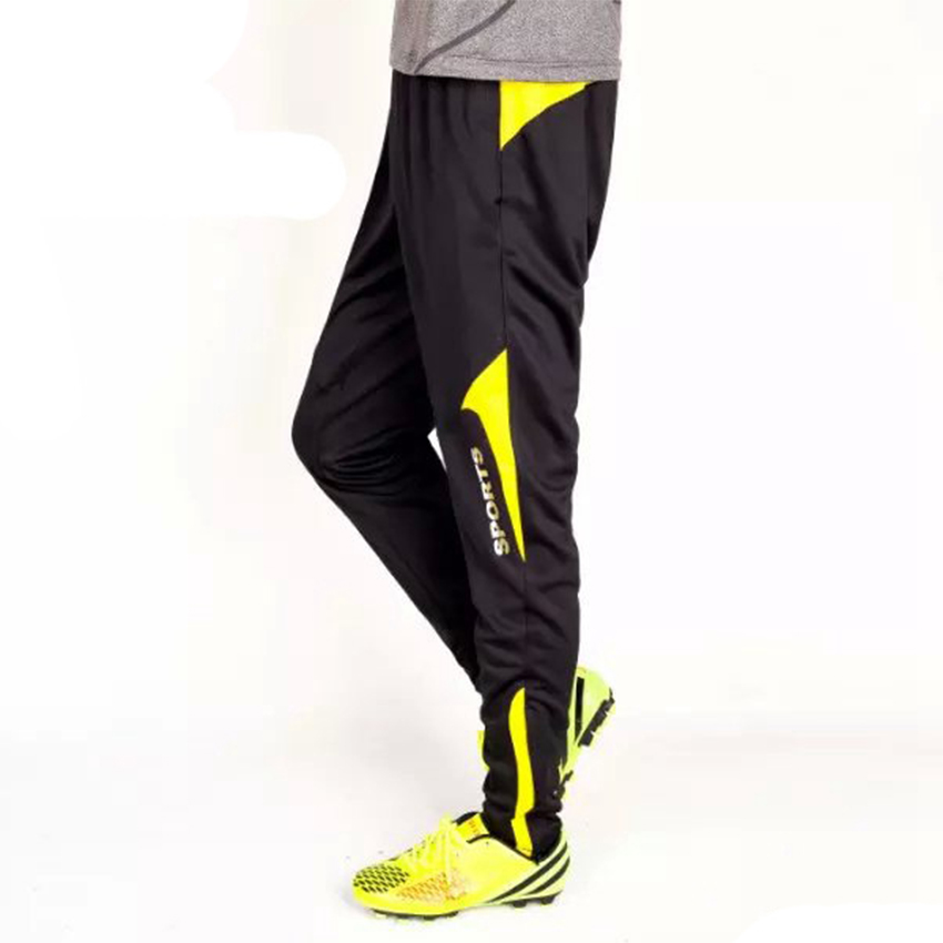 Good quality hot sale men legging sports runing fitness mountaineer bicycling black soccer football training long pants(China (Mainland))