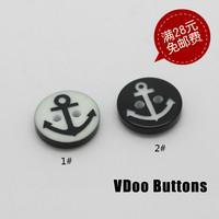needlework Diy button anchor buckle shirt button 12.5mm1 . 5 10  handicraft material sewing notions