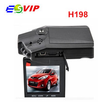 Best Selling H198 Car DVR with 6 IR LED and 2.5 Inch 270 Degree Rotated Screen and HD 720P Night Vision Car Camera Camcorder(China (Mainland))