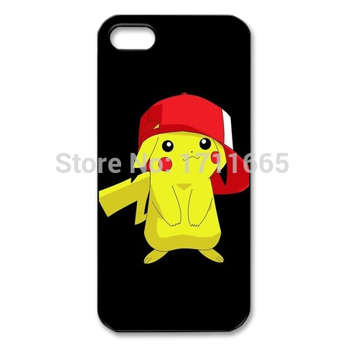 Pokemon Pikachu cover cases for iPhone 4s 5s 5c 6s Plus iPod touch 4 5 6 Samsung Galaxy s2 s3 s4 s5 mini s6 s7 edge note 2 3 4 5