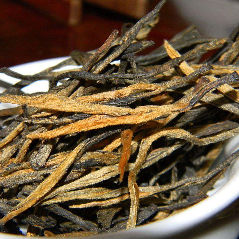 Гаджет  15g(3 sachets) Trial Pack Fengqing Large Leaves Gongfu Dianhong Authentic Classic 58 Yunnan Black Tea Super Pine Needle Tea Bud None Еда