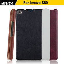 Buy Lenovo s60 case cover luxury flip leather Cases Lenovo S60 S60T S 60 phone cases imuca moble phone accessories&bags for $6.04 in AliExpress store