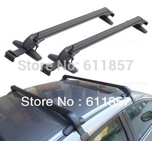 Universal Auto Car Roof Rack Cross-bars ,Bicycle Bike Carrier Luggage Carrier With Lock Al Material(China (Mainland))