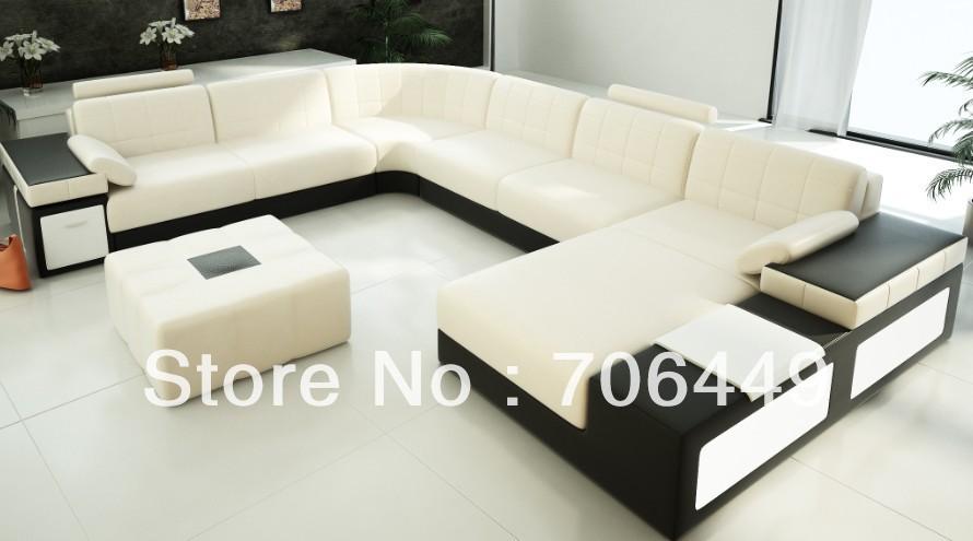 Kagera Furniture Wholesale Corner Sofa F122 U Shape Sofa