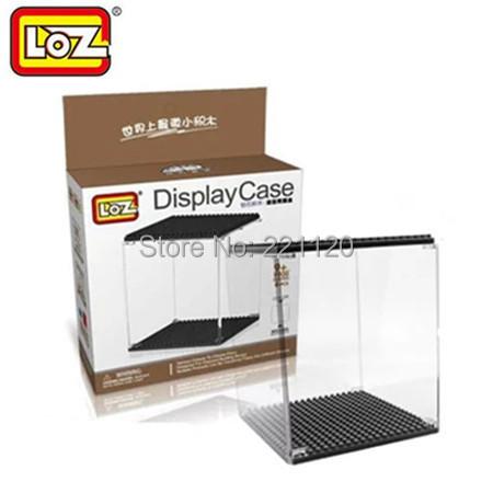 LOZ Display Case Block Model Protect Box Clear Plastic Dustproof Showcase Action Figure Case(China (Mainland))