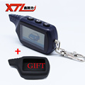 Russian version B9 Twage LCD Remote for starline B9 two way car remote controller free shipping