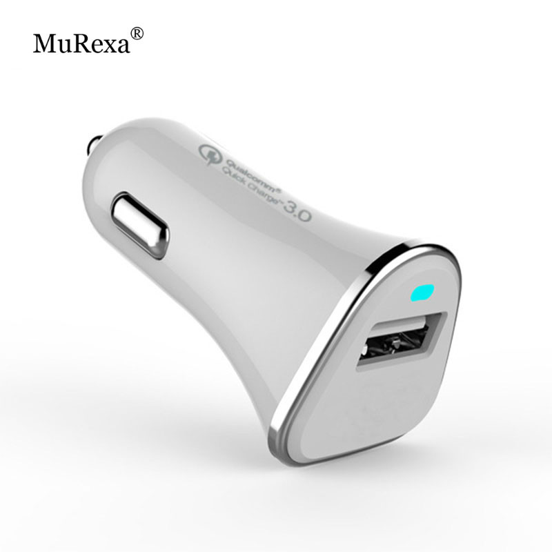 QC3.0 /Quick Charge 3.0 36W USB Car Charger Adapter Support 12V/1.5A 9V/2A 5V/2.4A Qualcomm Car Charger Single USB(China (Mainland))
