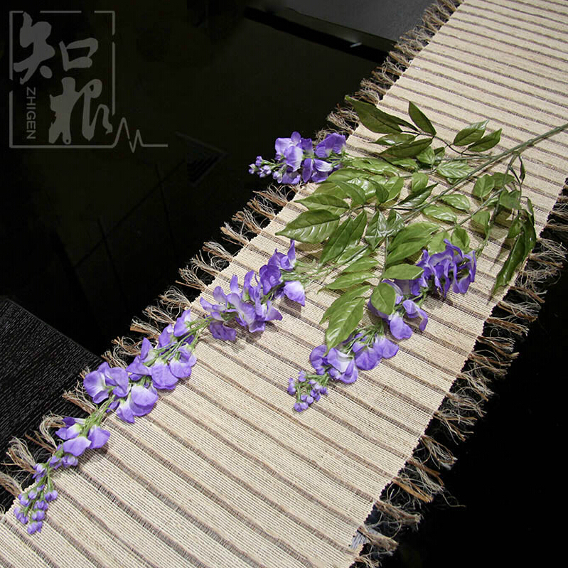 2016 107cm silk real touch purple green new year home New flower decoration