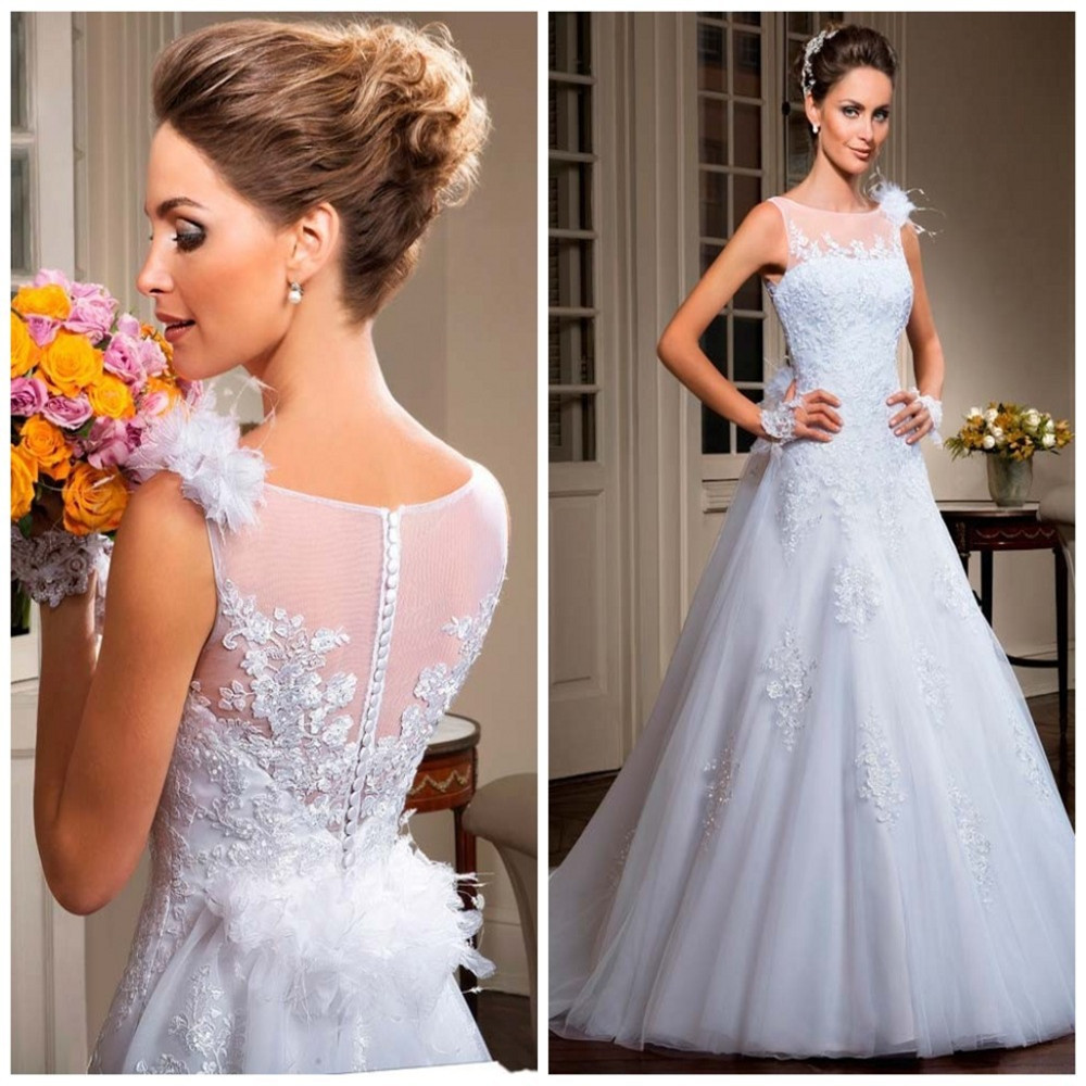 Buy white tulle sexy see through china for Buying wedding dress from china