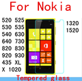 Tempered glass screen protector For Nokia Lumia 430 520 525 535 630 640 730 820 830