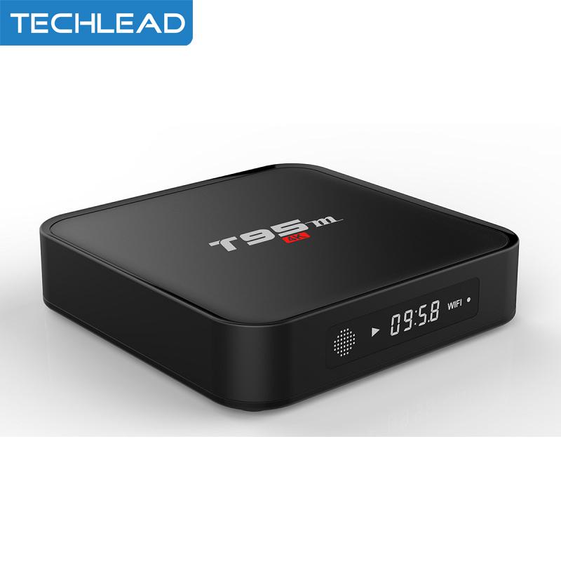 T95M Android 6.0 Smart TV box quad core S905x 1GB/2GB 8GB wifi network Set top box 4K H.265 TV video decoding HD Media player(China (Mainland))