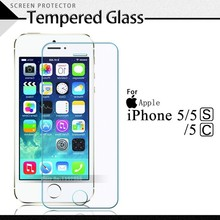 Premium Tempered Glass For iPhone 5SE 5C 5 Anti-scratch 0.25D 0.26mm Arc Edge Screen Protector Film For iPhone5SE