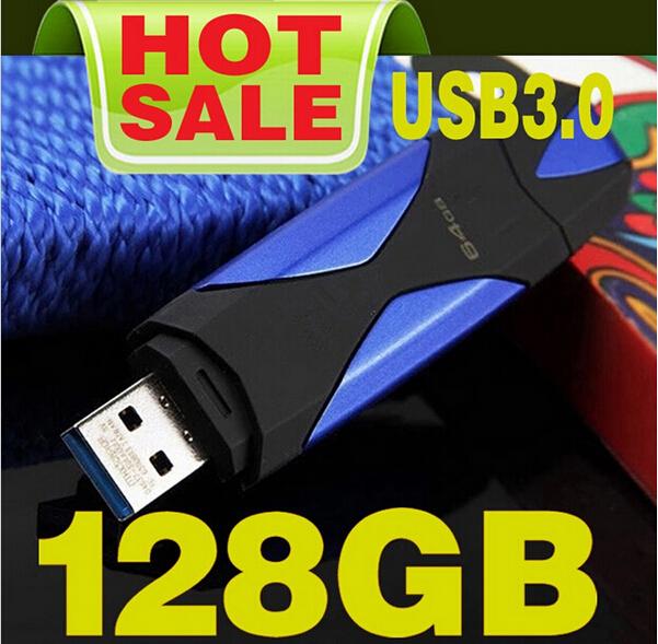 Usb Flash Drive 128gb Usb3.0 De Disco U Metal Presente Pen Drive De Cristal Card De Memory Pendrive 64 Gb 128 Gb Usb3.0freeship(China (Mainland))