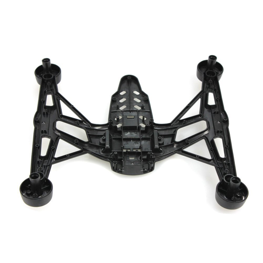F17790 JXD 509V 509W 509G RC Drone Spare Parts: Upper + Lower Body Shell Body Cover for JXD Quadcopter 4/6 Axle Gyro UAV