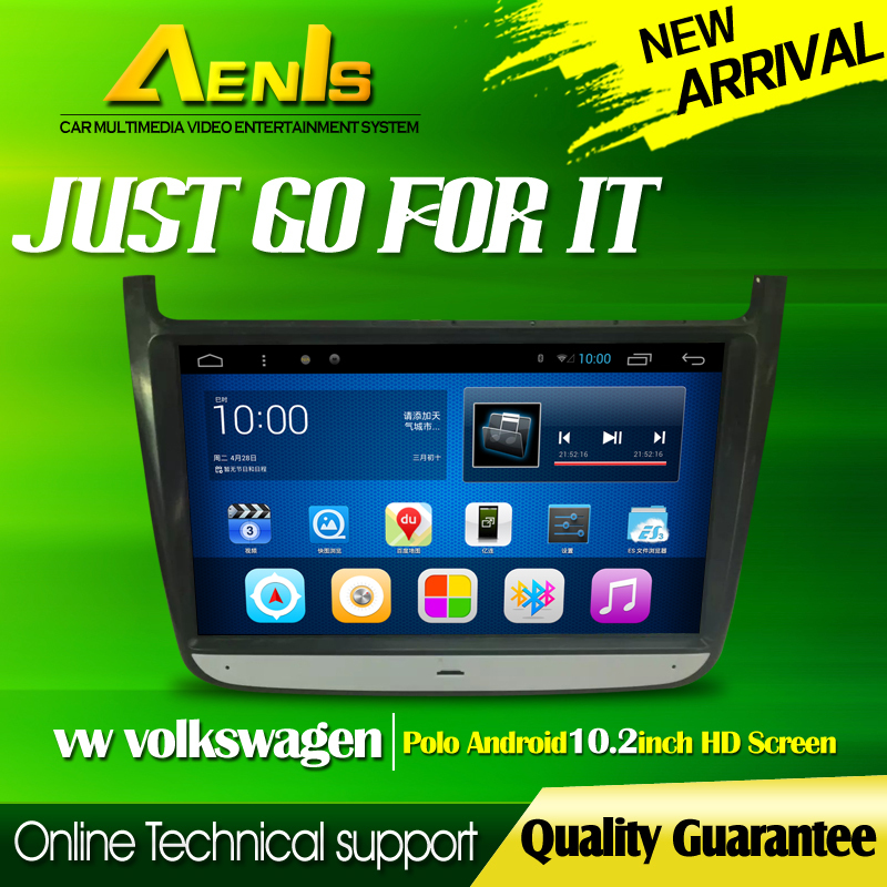 HD 10.2 1024*600 Pixels Android 4.2.2 System Car Navigation car radio GPS DVD For Volkswagen Polo With 3G WiFi Canbus OBD DVR(China (Mainland))