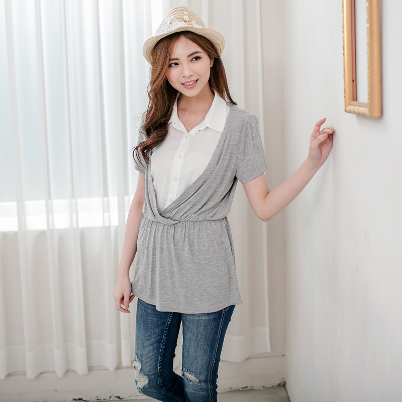 MamaLove Maternity Clothes Maternity top Nursing clothing ...