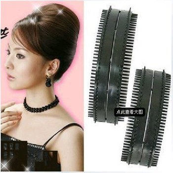 D19 Free shipping! 2pcs/lot Elegant Sexy Hair Band Braider Curler Roller Salon DIY