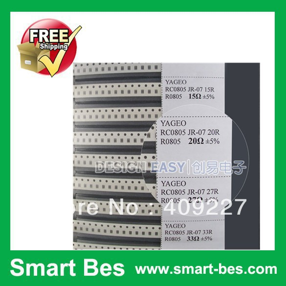 Smart-Bes~0805 SMT Resistor sample book& Capacitor book Mixed utility () practical