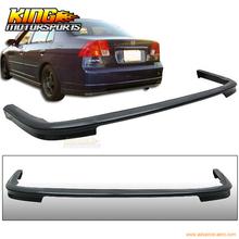 Buy Fit 01 02 03 Honda Civic Sedan 4DR PP Black Rear Bumper Lip Bodykit T-R Style for $58.89 in AliExpress store
