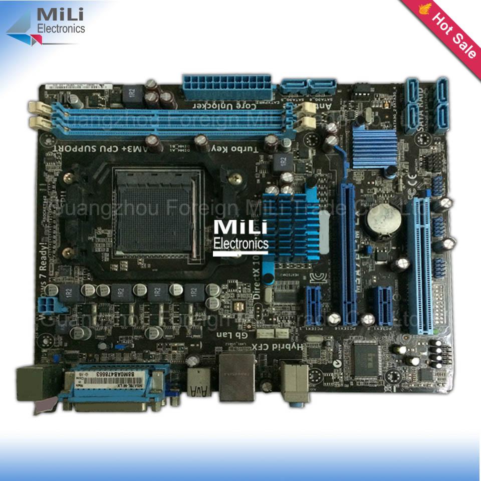For ASUS M5A78L-M LX Original Used Desktop motherboard For AMD 760G/780L Socket AM3 DDR3 On Sale<br><br>Aliexpress