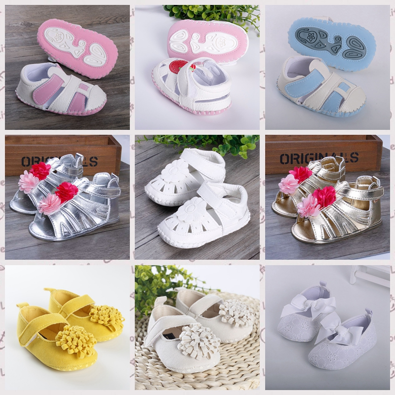 new casual Baby shoes little girl first walkers age 0-18 month newborn bebe sapatos mary janes summer infant toddler shoes r736