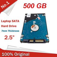 """Hdd interno da 2.5 """"pollici per notebook 500 gb hard drive 7mm spessore 16 m cache del computer portatile sata 5400 rpm spedizione gratuita(China (Mainland))"""