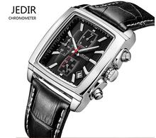 Top Brand JEDIR Men Watches Fashion Men Military Quartz Wristwatches Luxury Genuine Leather Watches Waterproof Relogio Masculino