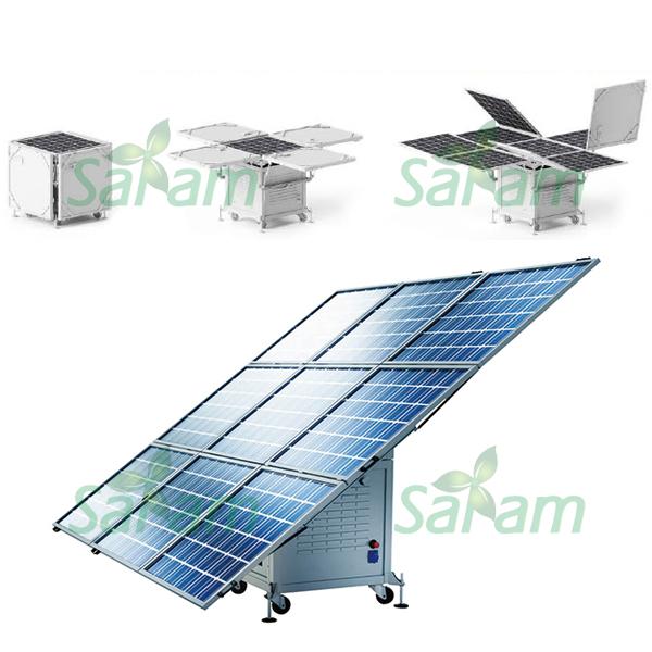 Movable 400W Solar Power Generators System Kits 220V 110V(China (Mainland))
