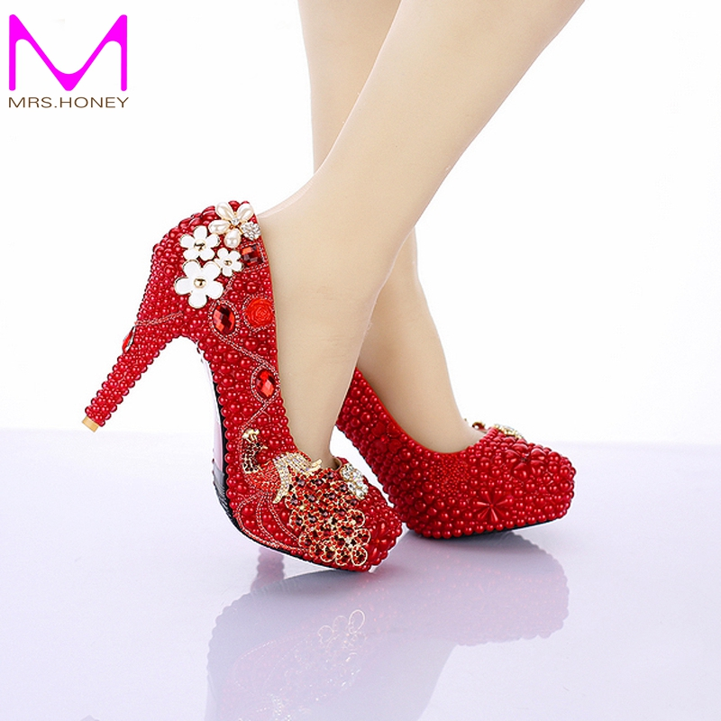 4 Inch Red Heels Promotion-Shop for Promotional 4 Inch Red Heels ...