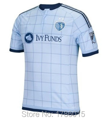 The 2015 United States occupation football league football jersey sporting Kansas City home court good Thai version(China (Mainland))