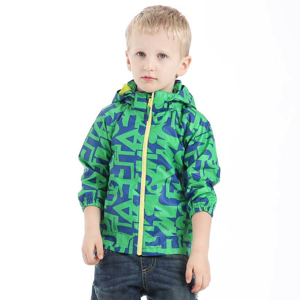 Hiheart 2015 High Quality Windproof Jacket Letters Baby Boys Spring And Autumn  Outwear Coat Parka Kids Wind Jacket Windbreaker <br><br>Aliexpress