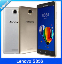 "Original 4G Phone LTE-FDD Lenovo S856 WCDMA Snapdragon 400 Quad Core 1.2GHz 5.5"" IPS 1280*720 Dual SIM 8.0MP 2500mAh Battery"