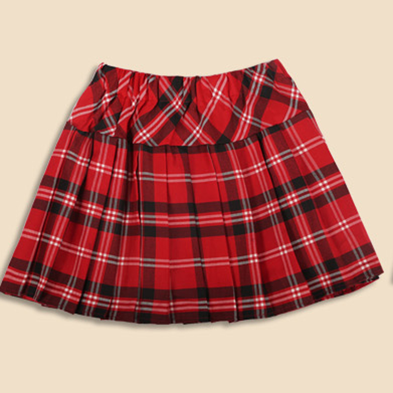 women summer winter font b skirt b font british College sexy Plaid font b skirt b
