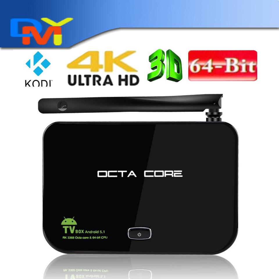 Z4 Android 5.1 TV Box RK3368 Octa-Core 64Bi 2G/16G UHD 4K*2K WiFi H.265 Mini PC Kodi XBMC Miracast DLNA LAN Media Player<br><br>Aliexpress