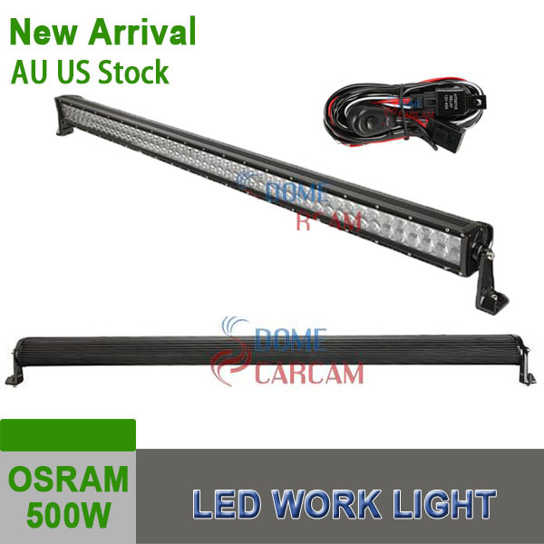 NEW Product 52Inch 500W OSRAM LED Work Light Bar Offroad Light SUV Truck Car Offroad Driving Lamp Auto Parts 2015 Headlight(China (Mainland))